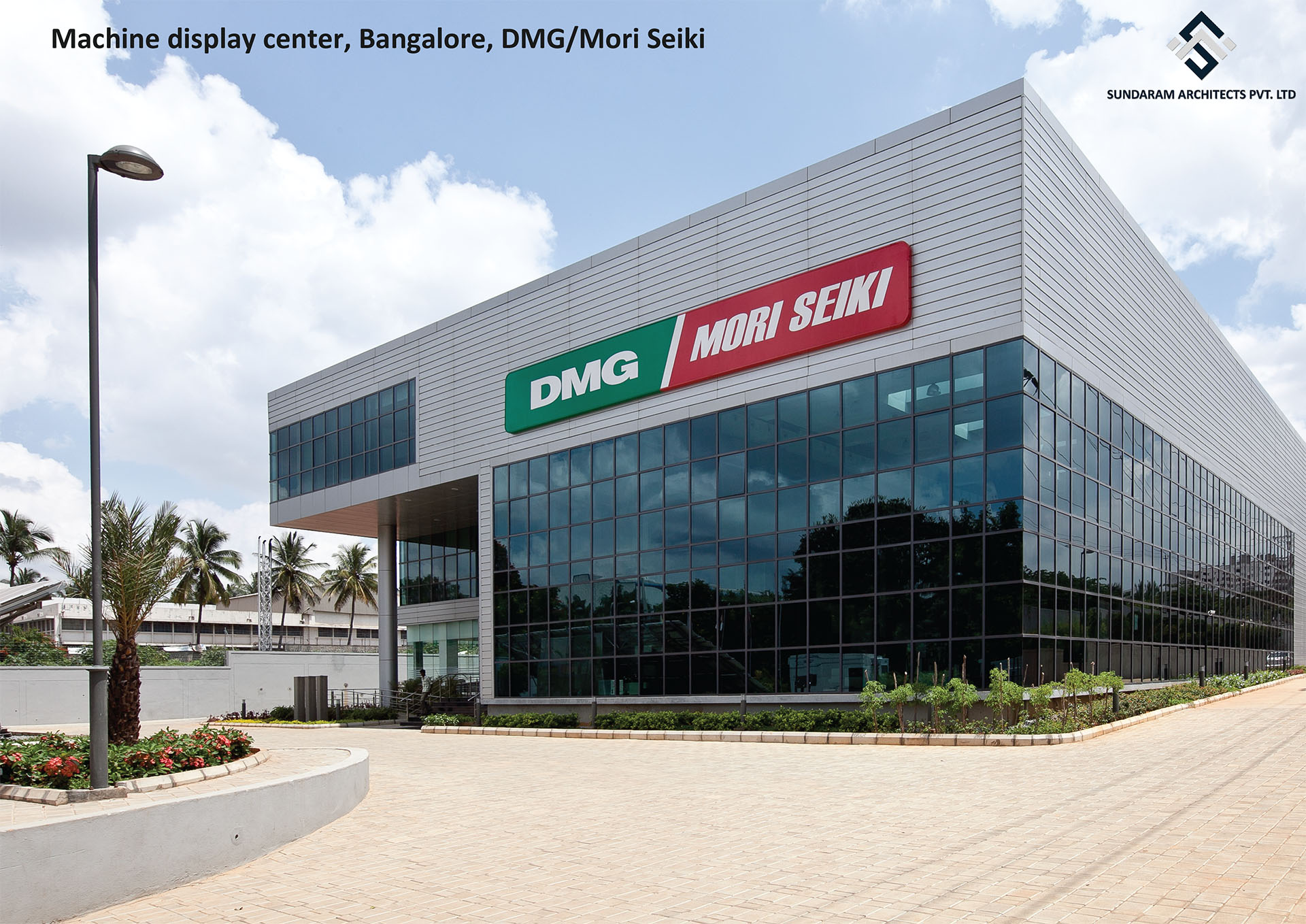 Machine Display Center, Bangalore, DMG/Mori Seiki - Industrial & Manufacturing Design